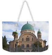 Tempio Maggiore  The Great Synagogue Of Florence Weekender Tote Bag