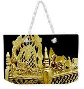 Temple Art - Brass Handicraft Weekender Tote Bag