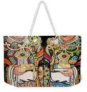 Temple Doors 01 Weekender Tote Bag
