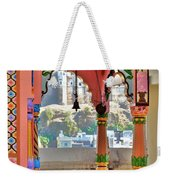 Colorful Temple Entrance - Omkareshwar India Weekender Tote Bag