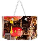 Temple Lanterns 01 Weekender Tote Bag