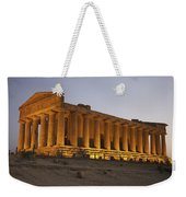 Temple Of Concordia In The Valley Of Weekender Tote Bag
