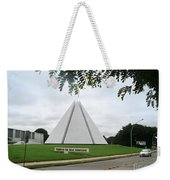Temple Of Good Will Weekender Tote Bag