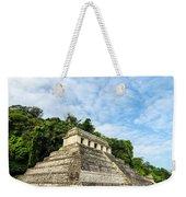 Temple Of Inscriptions Vertical Weekender Tote Bag