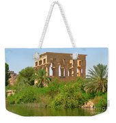 Temple Of Isis Among The Trees Weekender Tote Bag