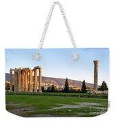 Temple Of Olympian Zeus. Athens Weekender Tote Bag