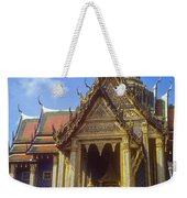 Temple Of The Emerald Buddha Weekender Tote Bag