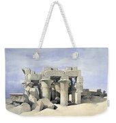 Temple On Nile Weekender Tote Bag