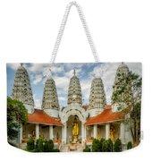 Temple Towers Weekender Tote Bag