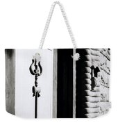 The Temple Trident Weekender Tote Bag