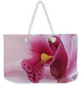 Temptation - Pink Cymbidium Orchid Weekender Tote Bag