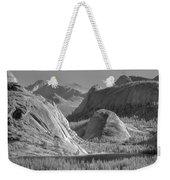 6m6552-bw-tenaya Lake Yosemite Bw  Weekender Tote Bag