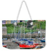 Tenby Harbour In Summer 4 Weekender Tote Bag