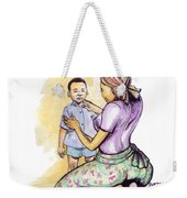 Tender Mother Weekender Tote Bag