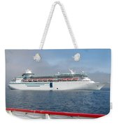 Tendered Ship Weekender Tote Bag