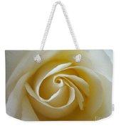 Tenderness White Rose Weekender Tote Bag