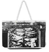 Tenement Housing Laundry Weekender Tote Bag