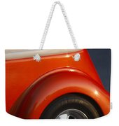 Tennessee Vols Fan Displaying The Colors Proudly Weekender Tote Bag