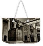 Tennessee War Memorial Black And White Weekender Tote Bag