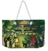 Tennis At Newport 1920 Weekender Tote Bag