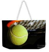 Tennis Equipment Weekender Tote Bag