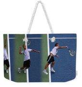 Tennis Serve By Mikhail Youzhny Weekender Tote Bag