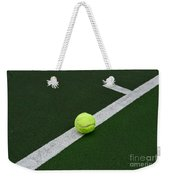 Tennis - The Baseline Weekender Tote Bag