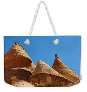 Tent Rocks Geology Weekender Tote Bag