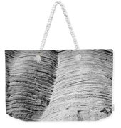 Tent Rocks Wall Weekender Tote Bag