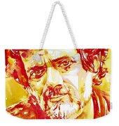 Terence Mckenna Watercolor Portrait.2 Weekender Tote Bag