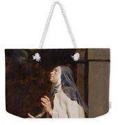 Teresa Of Avilas Vision Of A Dove Weekender Tote Bag