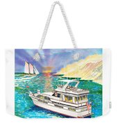 Terifico At Anchor Weekender Tote Bag