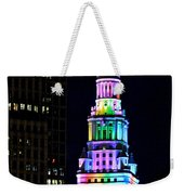Terminal Tower Rainbow Weekender Tote Bag