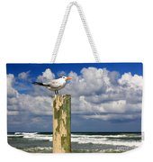 Tern On A Piling Weekender Tote Bag