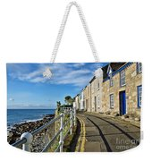 Terraced Cottages At Mousehole Weekender Tote Bag
