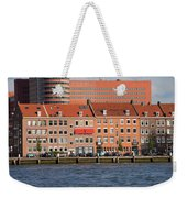 Terraced Houses In Rotterdam City Centre Weekender Tote Bag