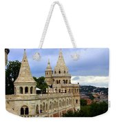 Terraces And Towers Of Fishermans Bastion Weekender Tote Bag