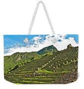 Terraces Of Machu Picchu-peru Weekender Tote Bag