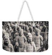 Terracotta Army Weekender Tote Bag by Adam Romanowicz