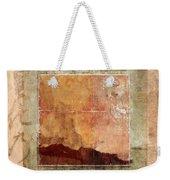Terracotta Earth Tones Weekender Tote Bag
