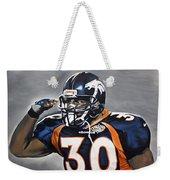 Terrell Davis  Weekender Tote Bag