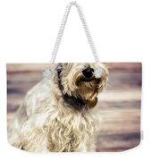 Terrier On Deck Weekender Tote Bag