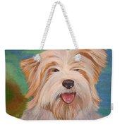 Terrier Portrait Weekender Tote Bag