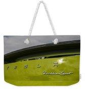 Tesla Roadster Weekender Tote Bag