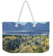1m9209-tetons From Signal Mountain, Wy Weekender Tote Bag