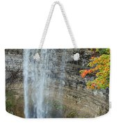 Tews Falls In Autumn Weekender Tote Bag