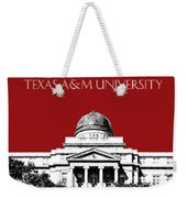 Texas A And M University - Dark Red Weekender Tote Bag