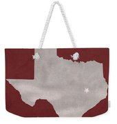 Texas A And M University Aggies College Station College Town State Map Poster Series No 106 Weekender Tote Bag