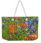 Texas Best Wildflowers Weekender Tote Bag