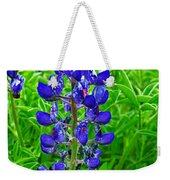 Texas Blue Bonnet Weekender Tote Bag